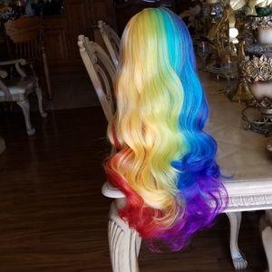 Rainbow Beauty Full Wig